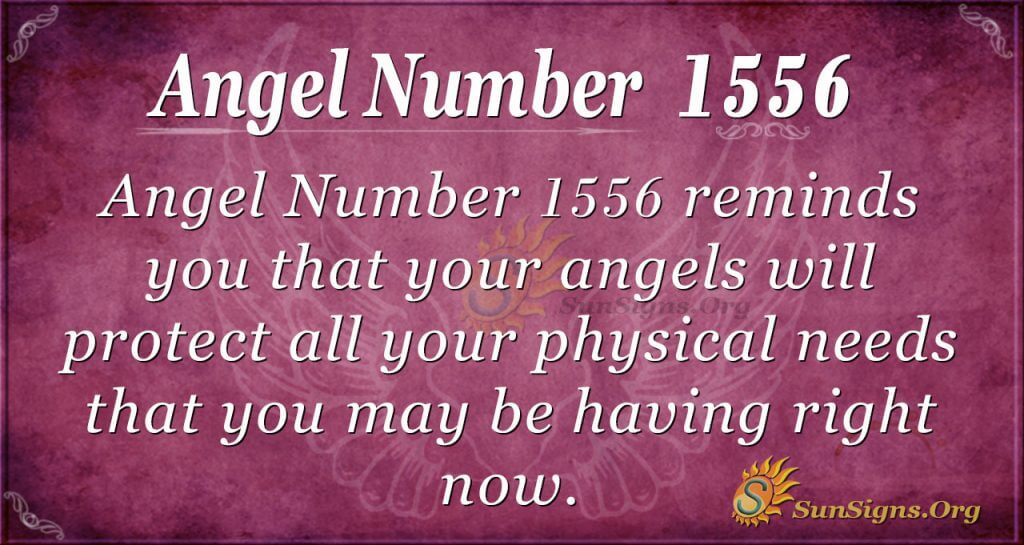 Angel number 1556