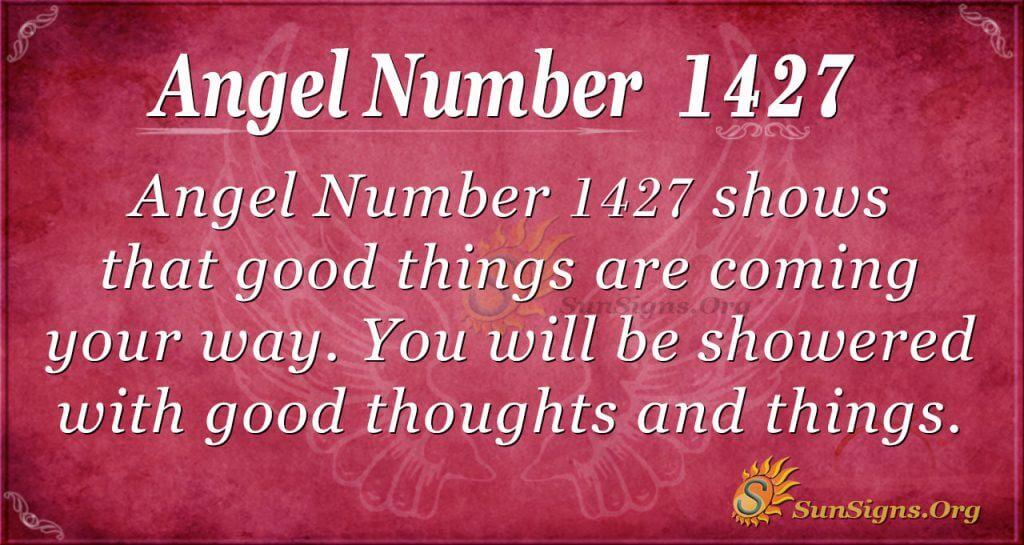 Angel Number 1427