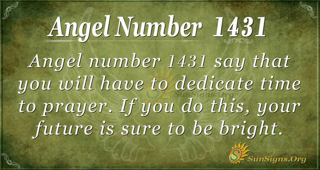 Ange Number 1431