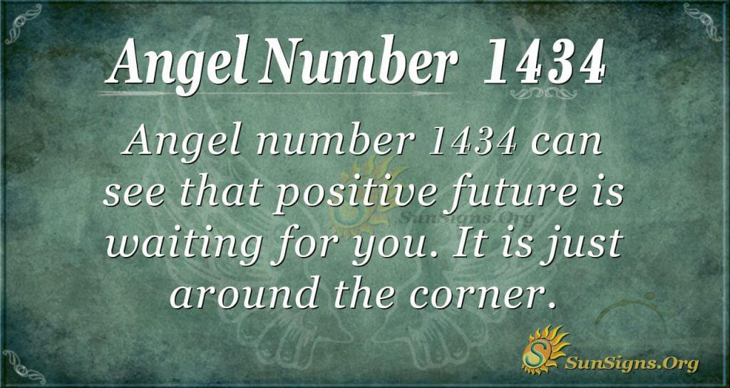 Angel Number 1434