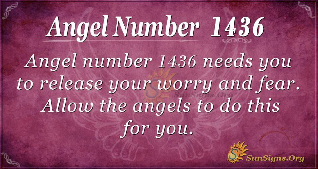 Angel Number 1436