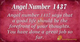 Angel Number 1437