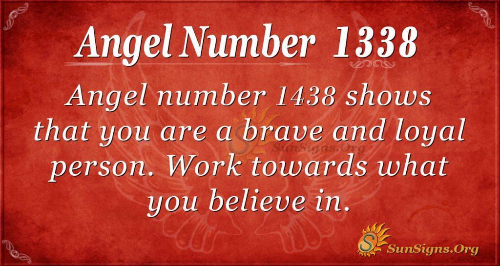 Angel Number1438