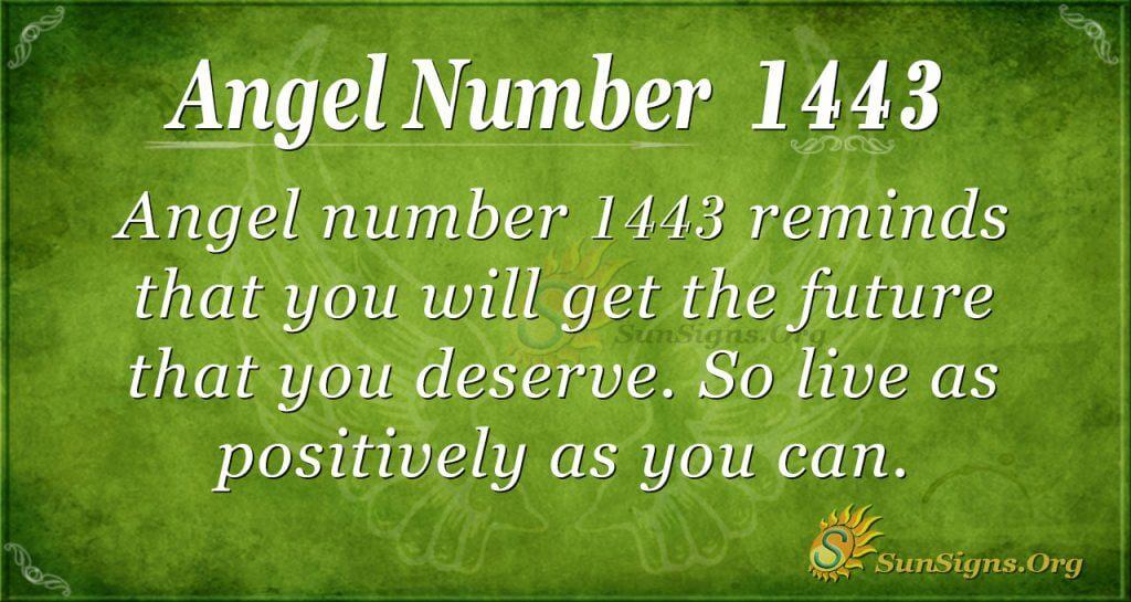 Angel Number 1443