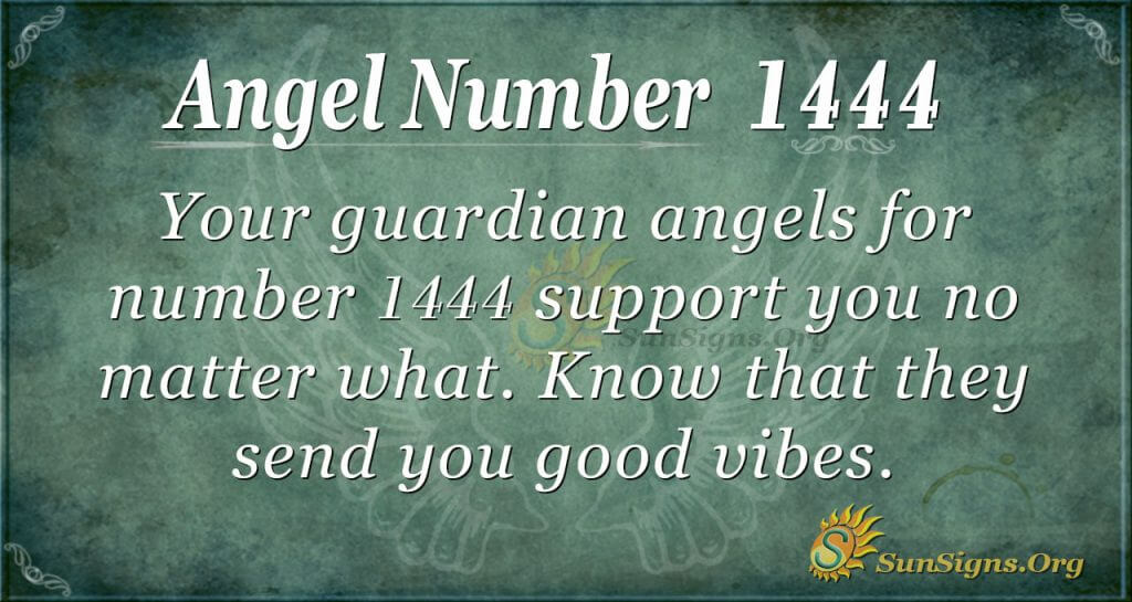 Angel Numer 1444