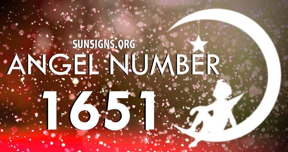 angel number 1651