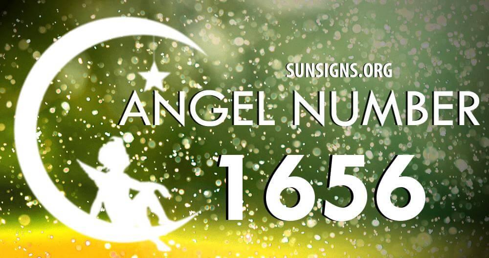 angel number 1656