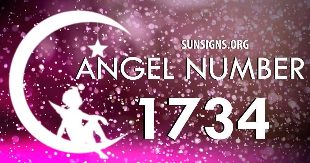 angel number 1734