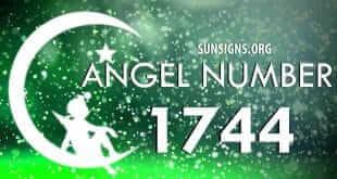 angel number 1744