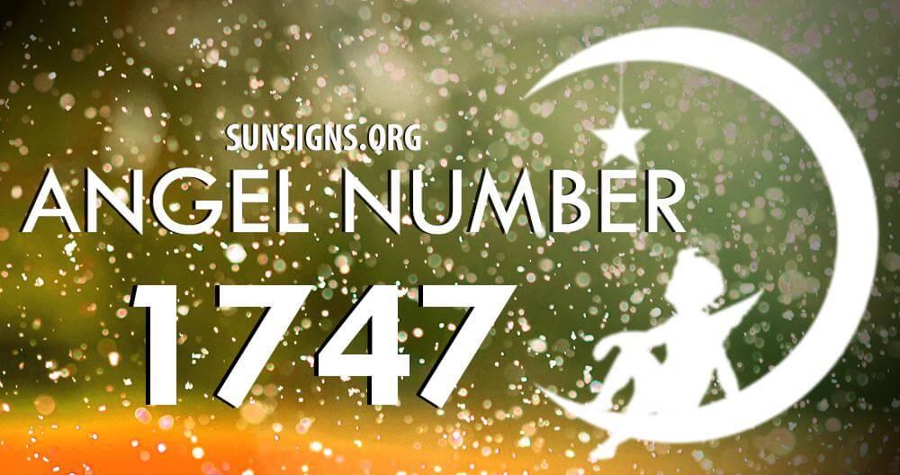 angel number 1747