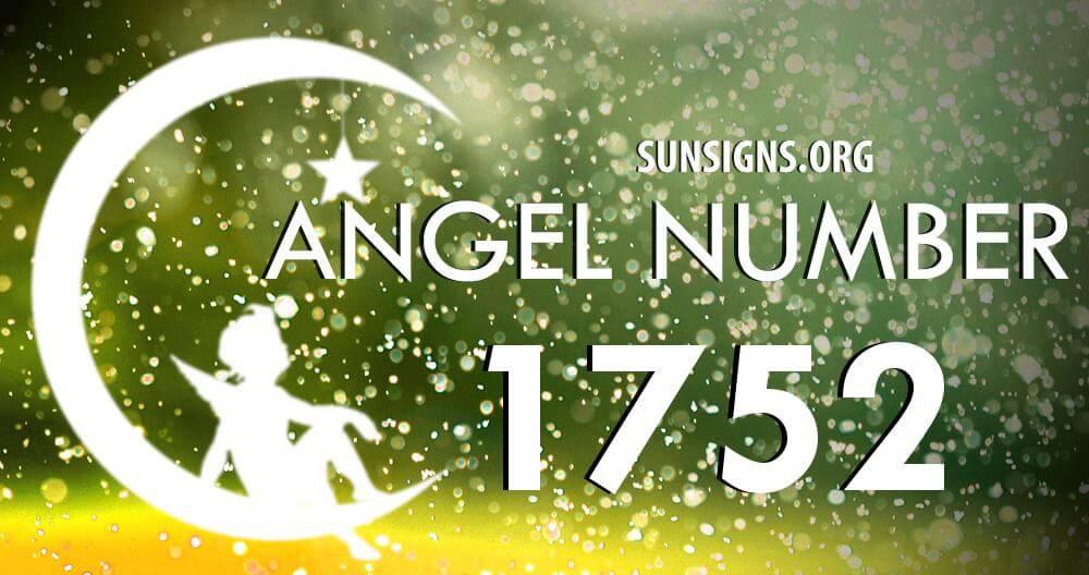 angel number 1752
