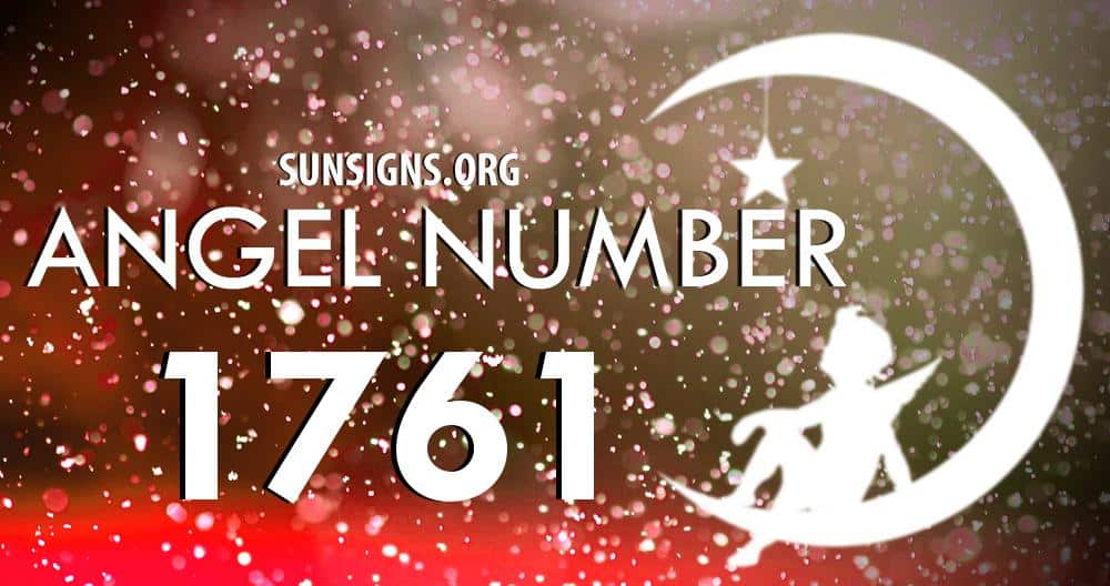 angel number 1761