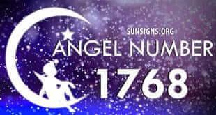 angel number 1768