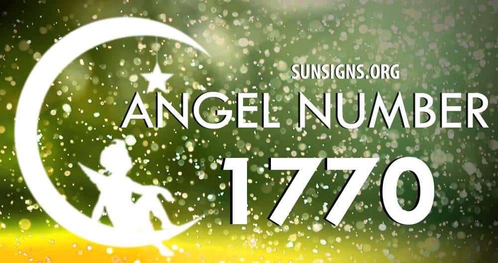 angel number 1770