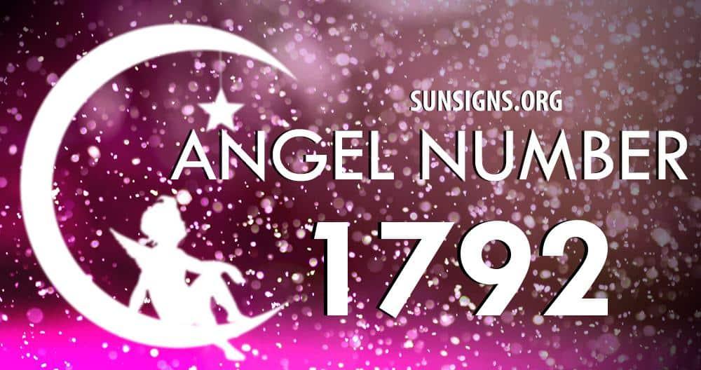 angel number 1792