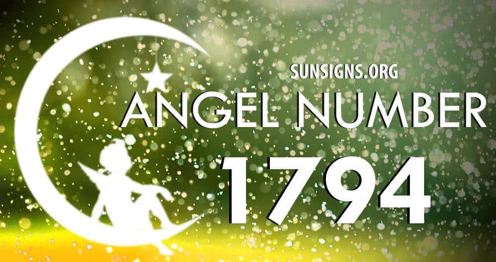 angel number 1794