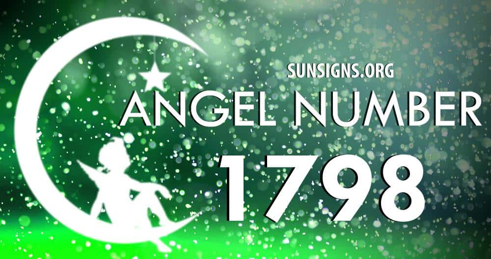 angel number 1798
