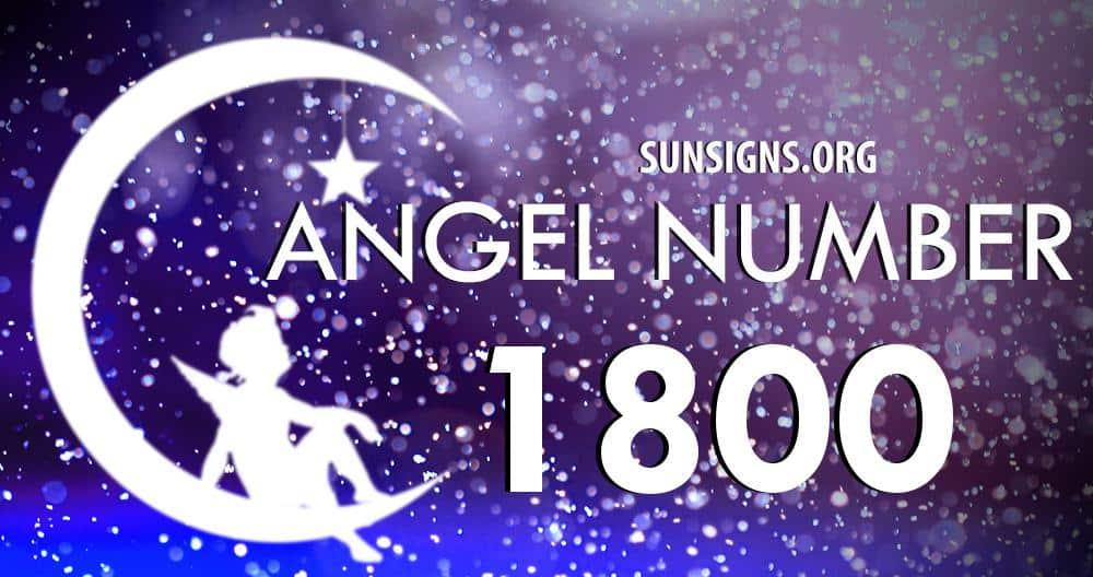 angel number 1800