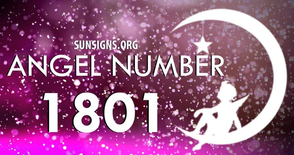 angel number 1801