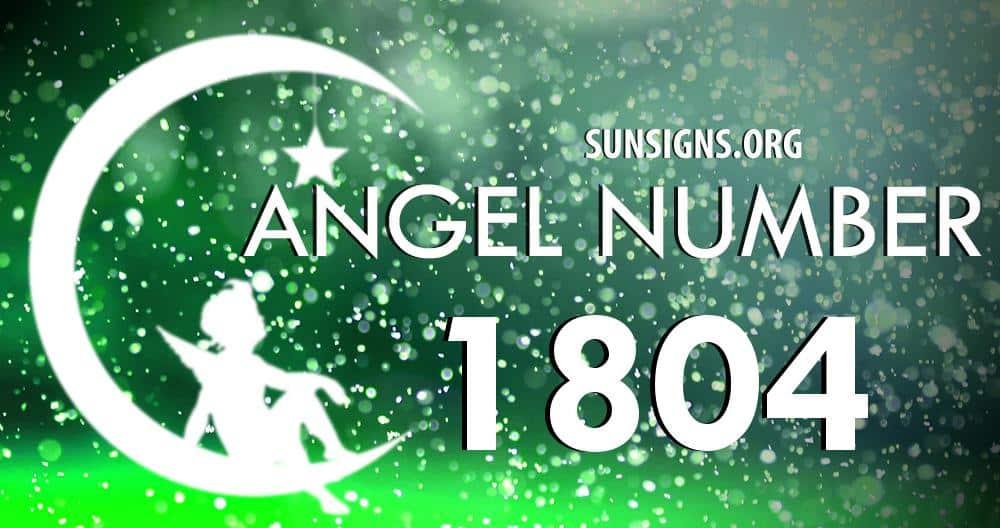 angel number 1804