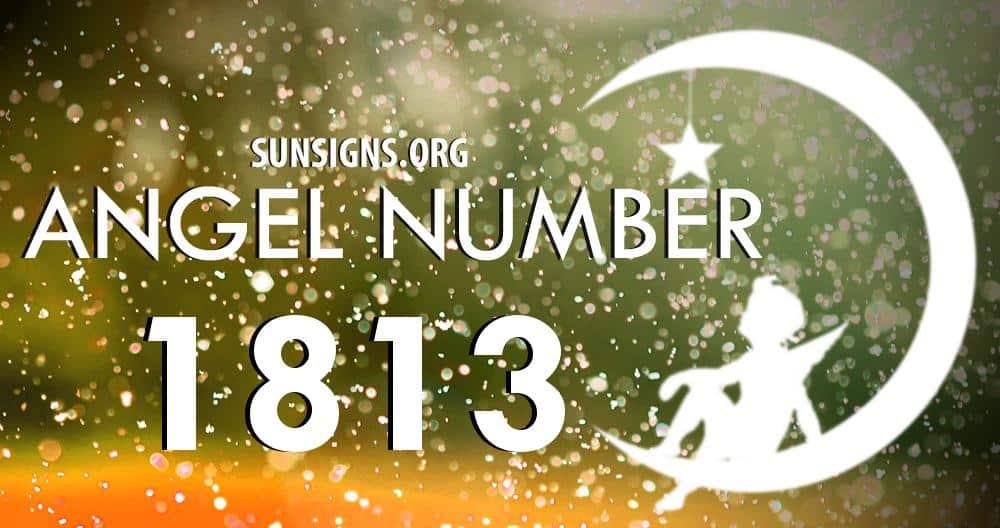 angel number 1813