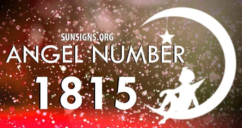 angel number 1815