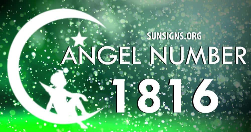 angel number 1816