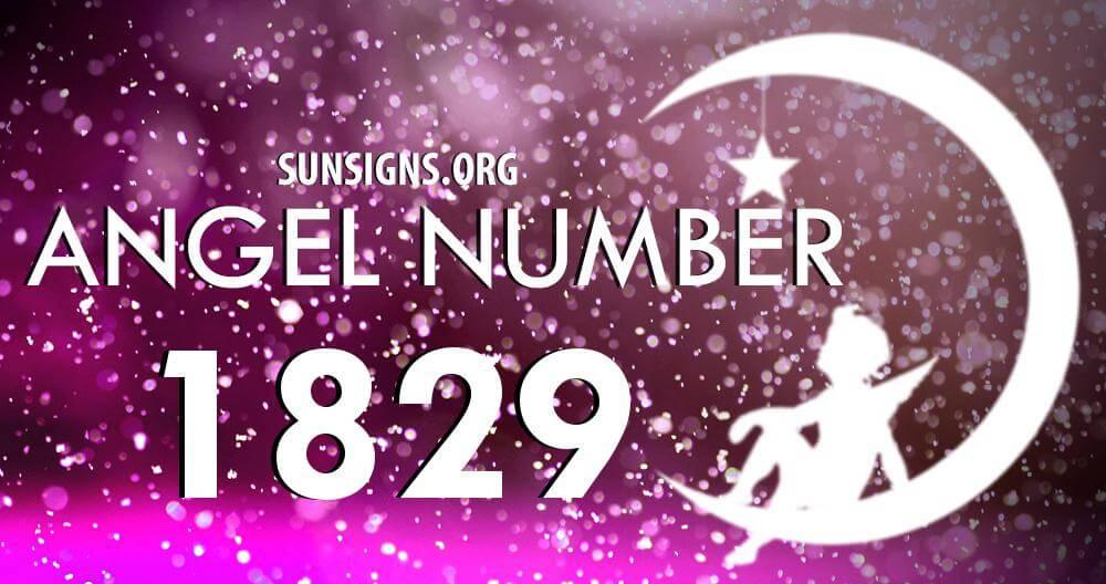 angel number 1829