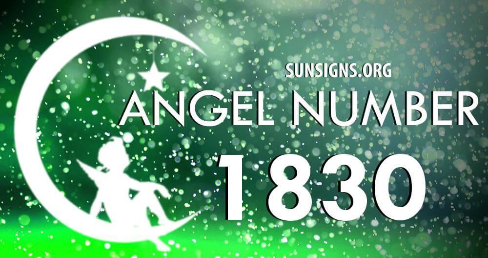angel number 1830