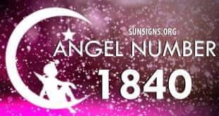 angel number 1840