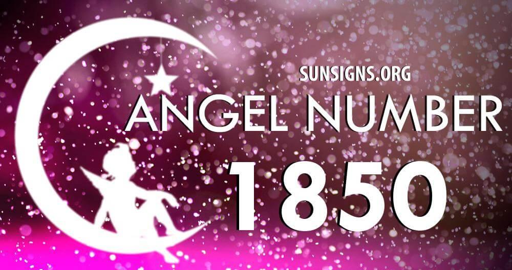 angel number 1850