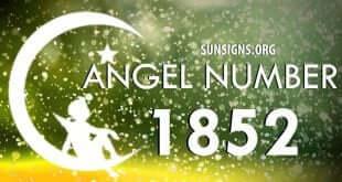 angel number 1852