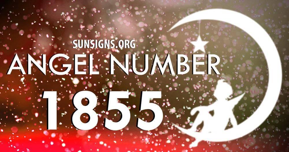 angel number 1855