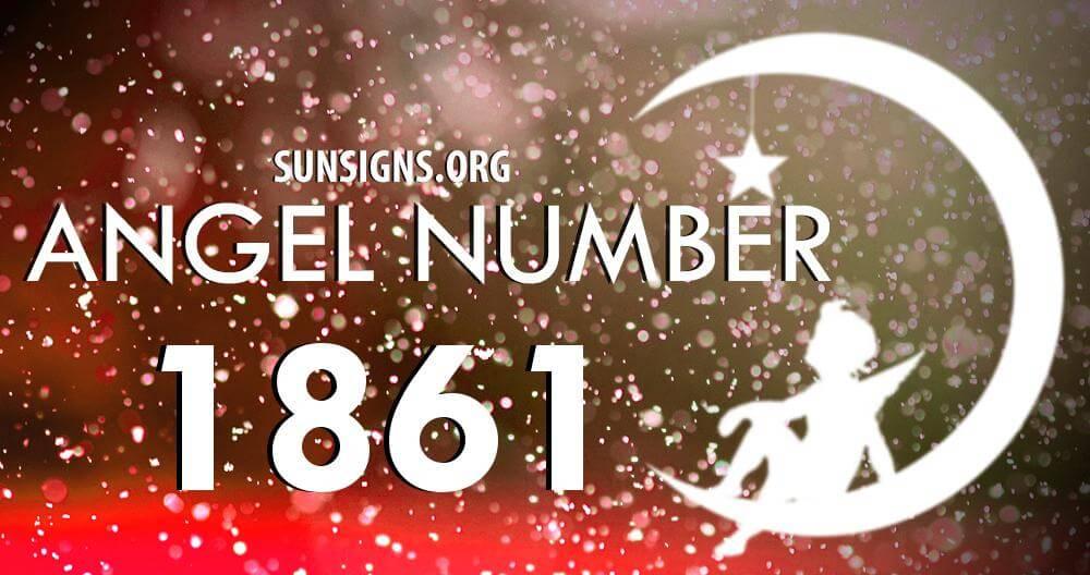 angel number 1861