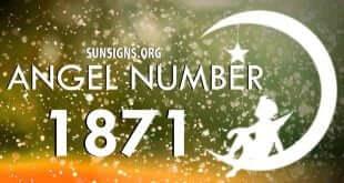 angel number 1871