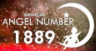angel number 1889