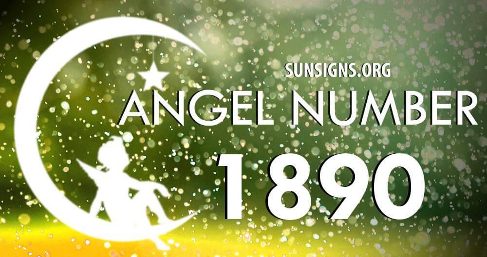 angel number 1890