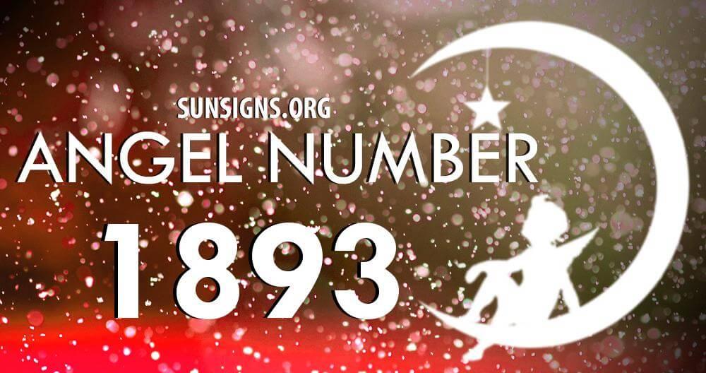 angel number 1893