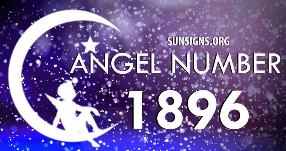 angel number 1896