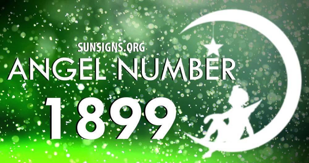 angel number 1899