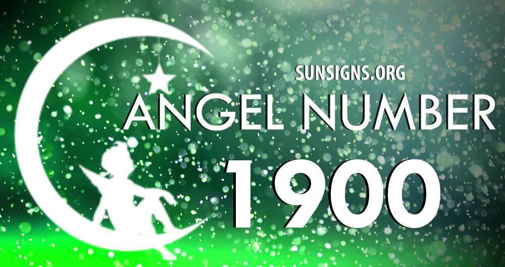angel number 1900