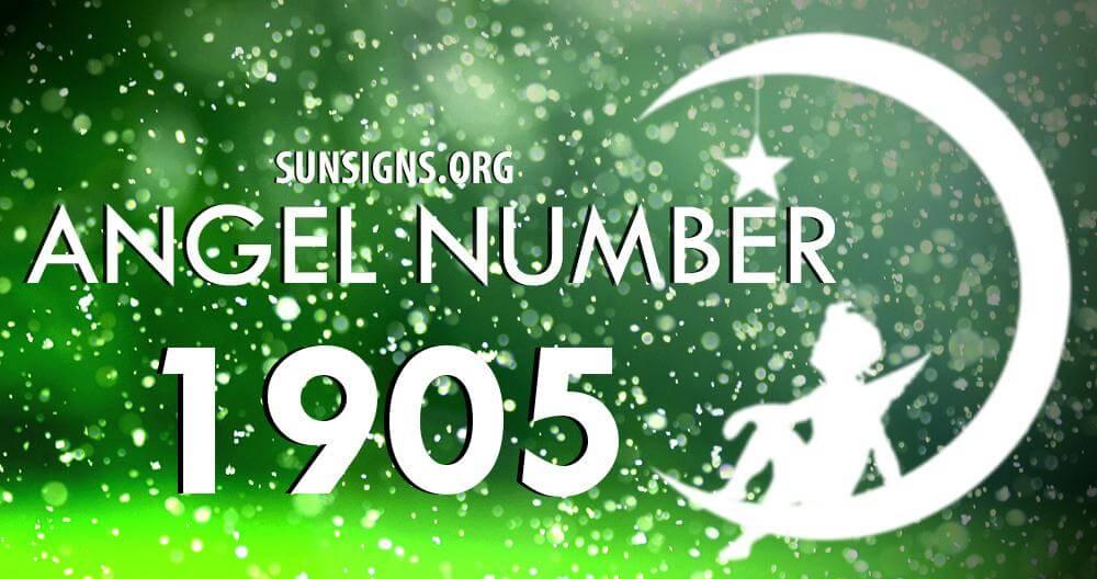 angel number 1905