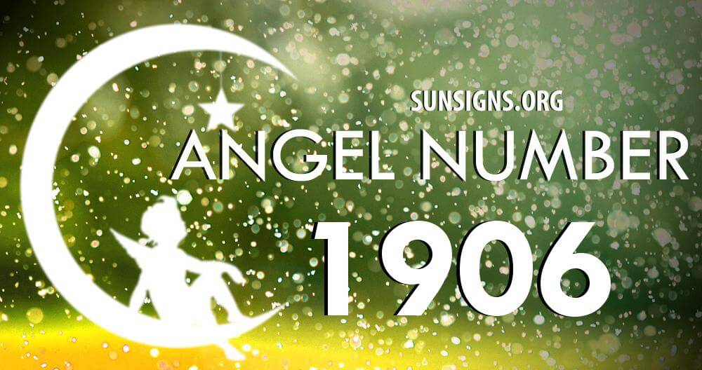 angel number 1906
