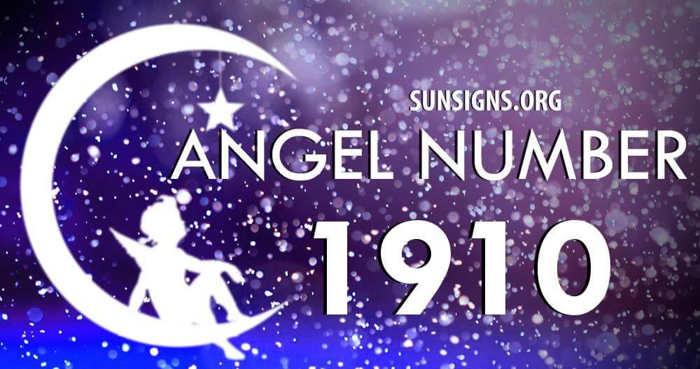 angel number 1910