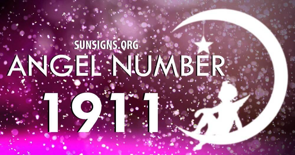 angel number 1911