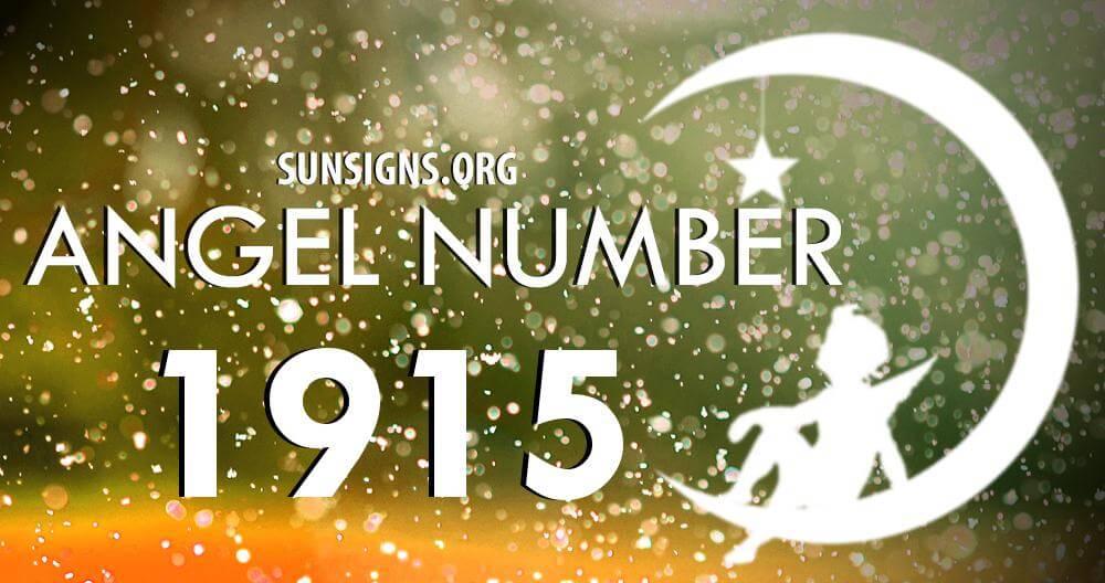 angel number 1915