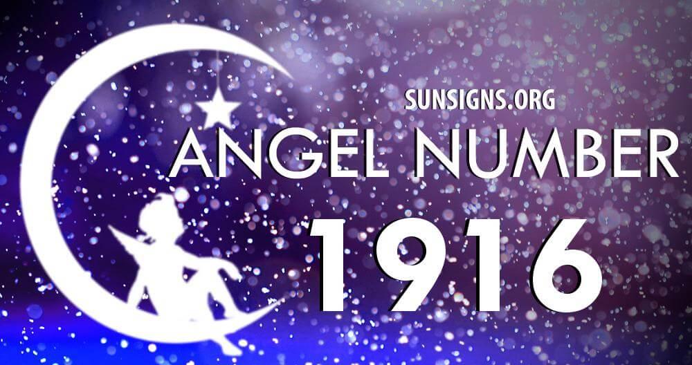 angel number 1916