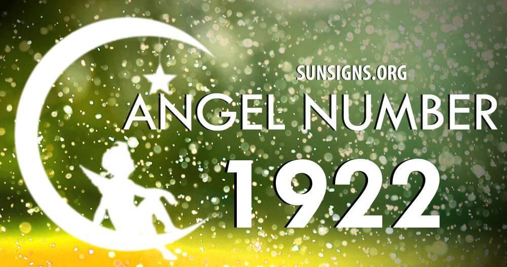 angel number 1922