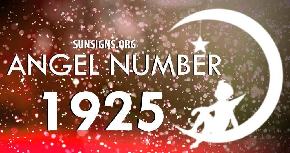 angel number 1925