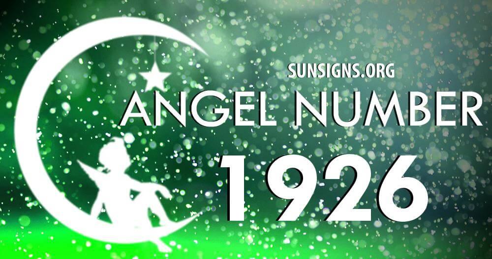 angel number 1926